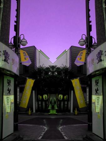 街-01 from 一心寺_東海七福神(寿老人)
