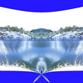 写真: 冬の湖-02