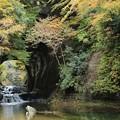 写真: 亀岩の洞窟