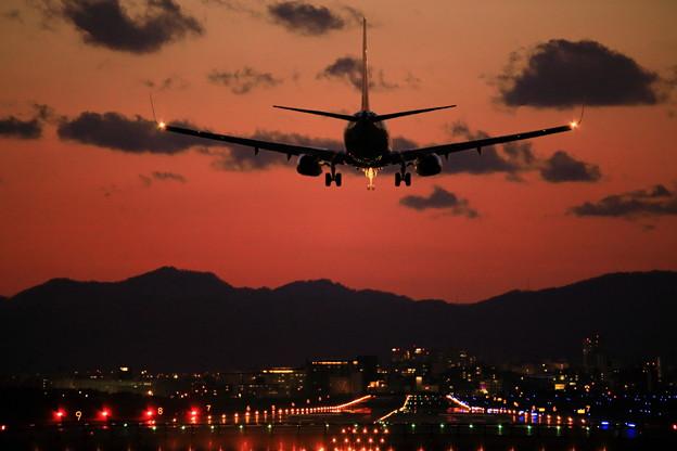 写真: 夕焼け737