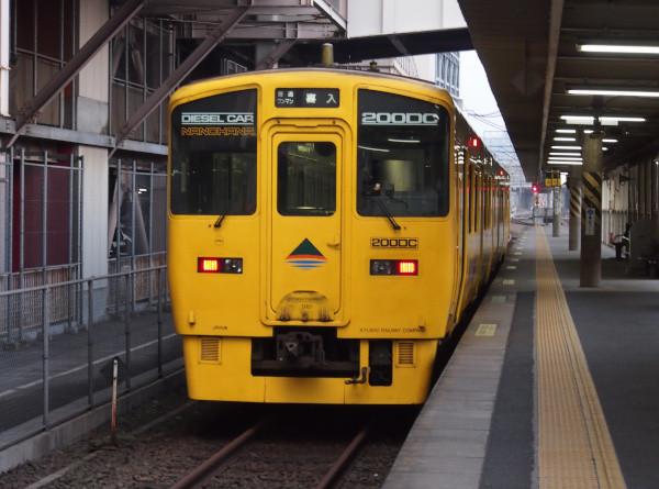 鹿児島中央駅にて