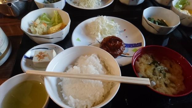 雲取山荘の夕食