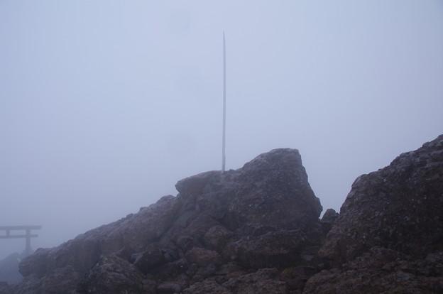 男体山頂上(標高2486m)