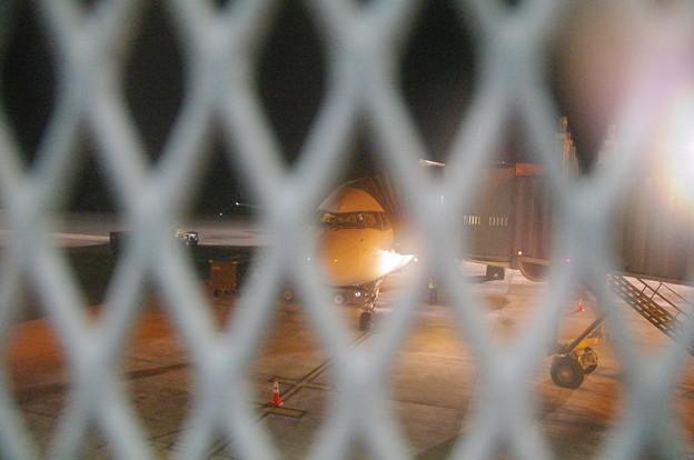 Photos: パラオのDL281便