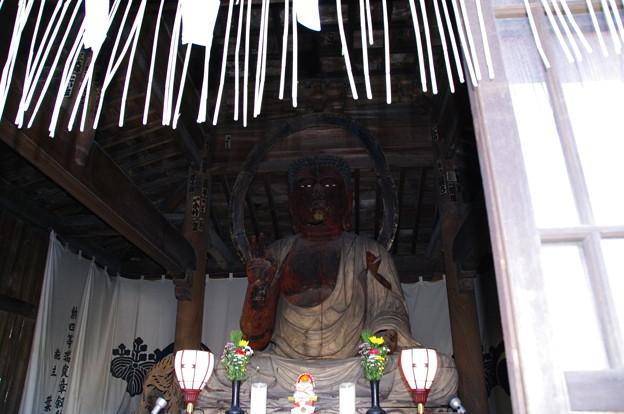 東昌寺の阿弥陀様