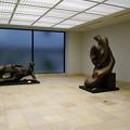 写真: 松岡美術館のヘンリームーア