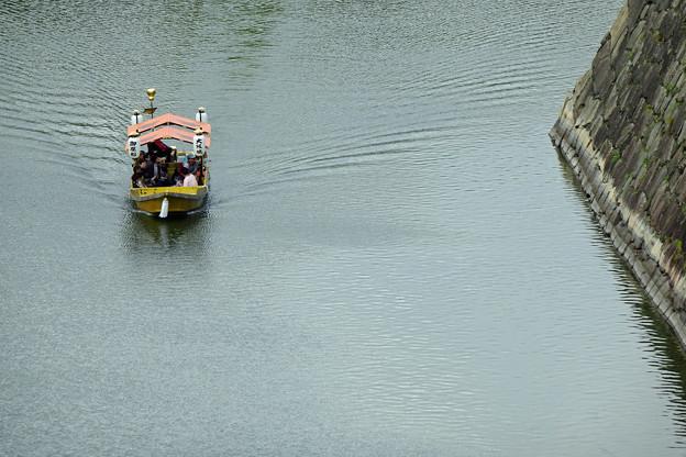 内濠石垣と御座船