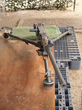 12.7mm重機関銃M2その1