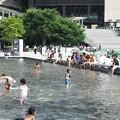 写真: 猛暑日:都会オアシス09