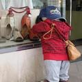写真: 小さなお客さん:鳥取街角05