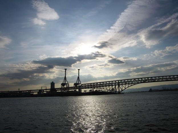 港大橋夕景:大阪周遊19