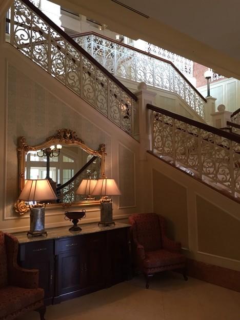 中の階段:ホテル09