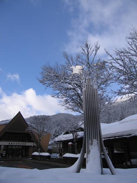 JR九頭竜湖駅:雪国ローカル線07