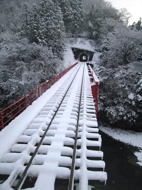 Photos: 橋梁:雪国ローカル線05