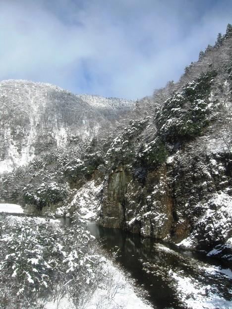 渓谷美:雪国ローカル線11