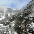 写真: 渓谷美:雪国ローカル線11
