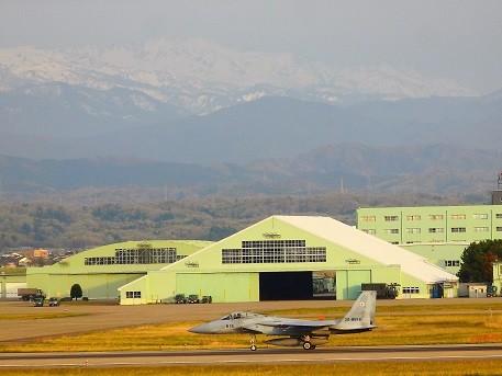 F15と白山