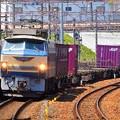 貨物列車通過~石山駅