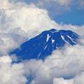 飛行機からの富士山 2017-06-23