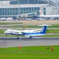 写真: 福岡空港 ANA着陸