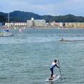 葉山にて~逗子海岸を望む^^