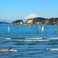 写真: 鎌倉からの富士山