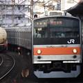 写真: 205系武蔵野線
