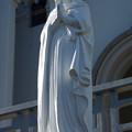 紐差教会の聖母像