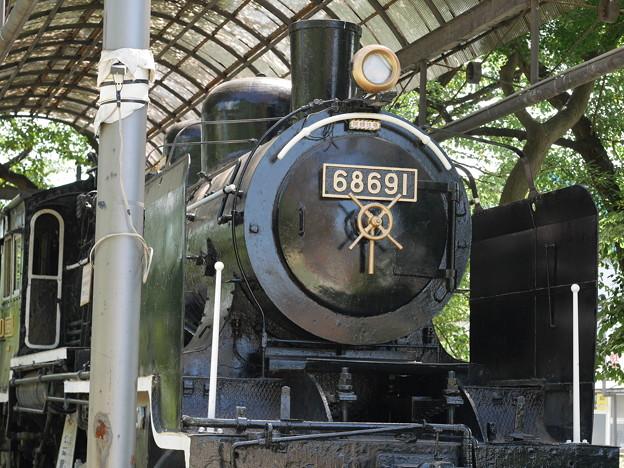 公園の機関車