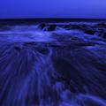 写真: 引き波