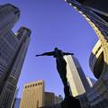写真: 都庁広場