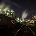 写真: 工場萌え「千鳥町」