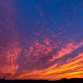 太陽と雲の共演