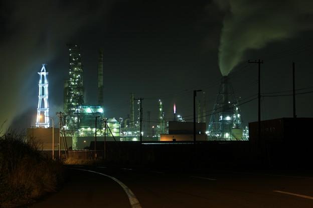 室蘭・工場夜景1 (1400x933)