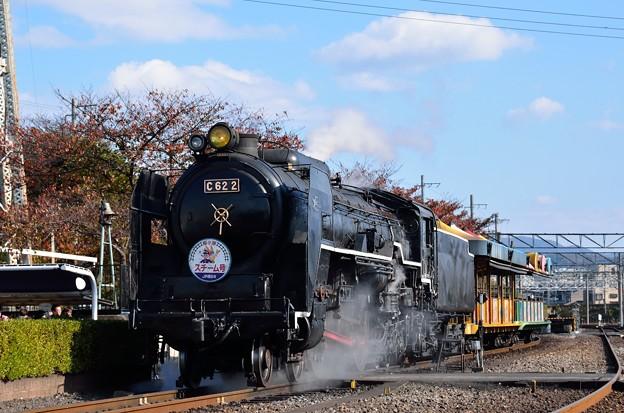 蒸気機関車C622