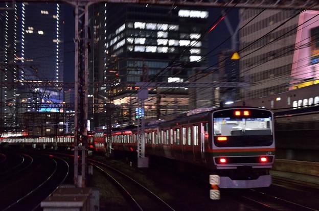E231系東海道線回送