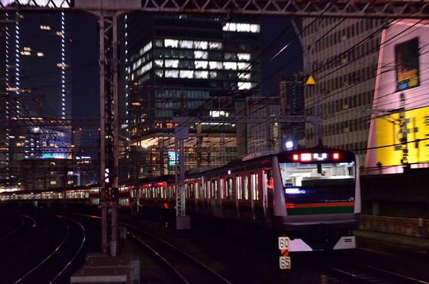 東海道線E233系@有楽町