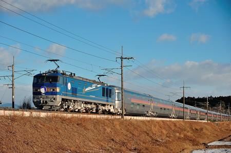 EF510-512牽引寝台特急カシオペア@蒲須坂