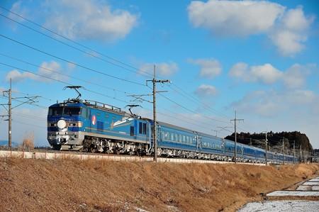 EF510-513牽引寝台特急北斗星号