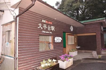 大平台駅舎