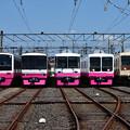 写真: 新京成電鉄くぬぎ山車両基地公開