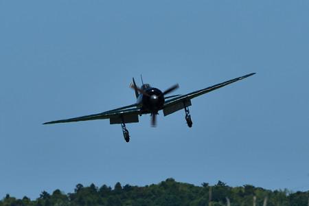 零式艦上戦闘機22型竜ケ崎飛行場帰還