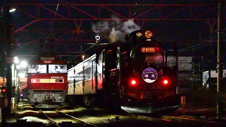 夜汽車と金太郎