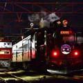 Photos: 夜汽車と金太郎