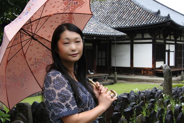 写真: Roof of Asuka period