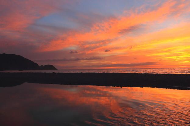 写真: 夕空流れて