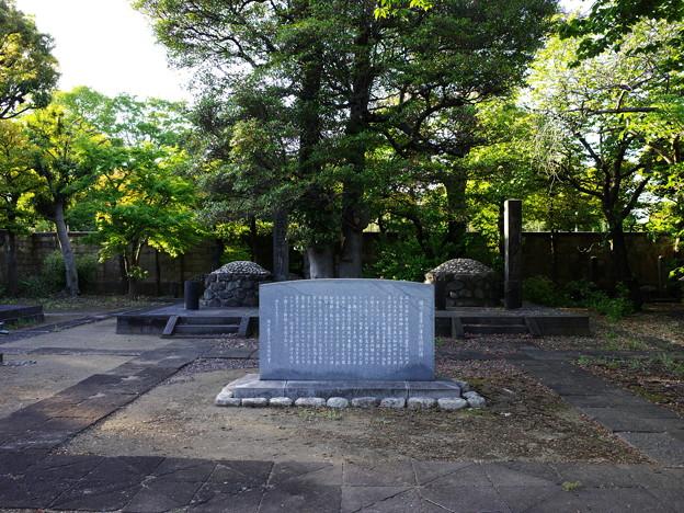 十五代将軍のお墓