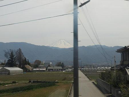 富士山3(身延線の車窓)