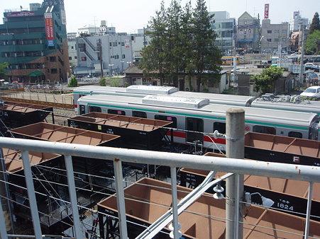 東急車輌甲種回送(八王子駅)1