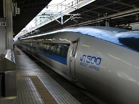 500系(新横浜駅)4